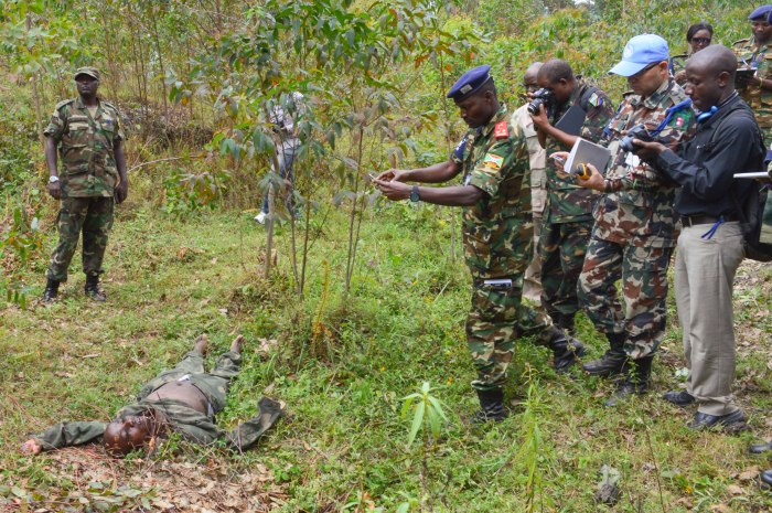 Gaius Kowene battlefield Rwanda DRC border